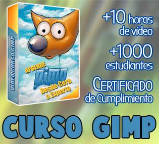 Vídeo Curso Gimp en español