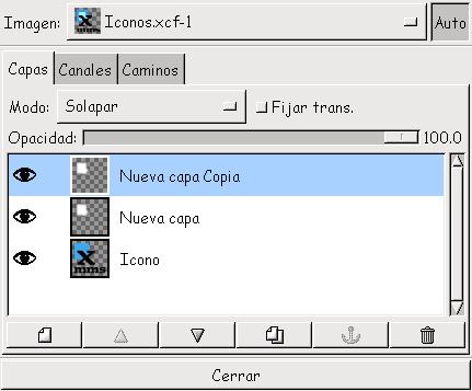 Creando Iconos en Gimp. Imagen7