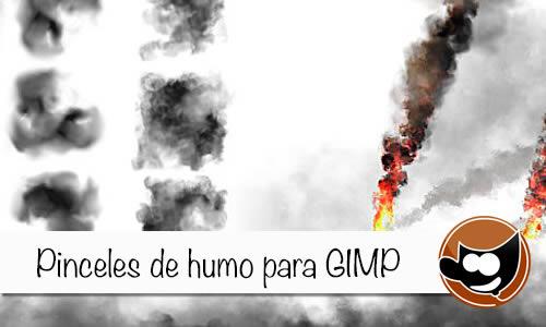 Previsualización - Pinceles de humo para Gimp